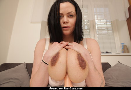 Shione Cooper - Gorgeous Unclothed Czech Brunette Pornstar & Mom with Big Nipples (4k Sexual Photo)
