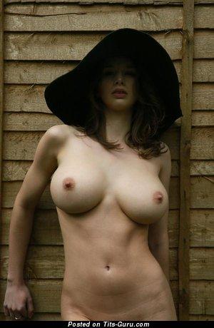 Image. Naked hot girl with big natural tittys image