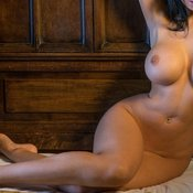 Amazing female with big breast image