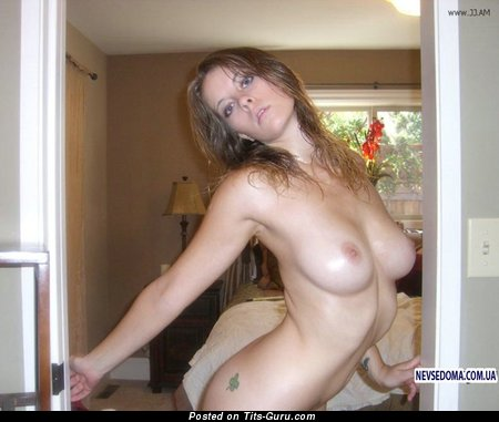Image. Naked wonderful lady with natural breast picture