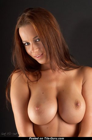 Stunning Glamour Babe with Stunning Naked Real C Size Busts & Enormous Nipples (Hd Porn Picture)