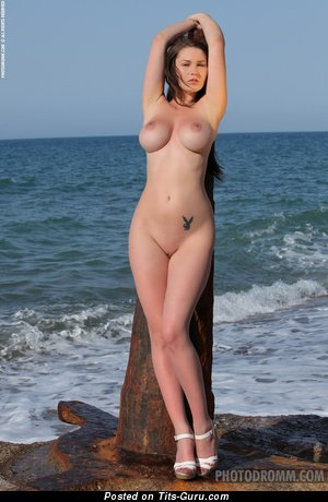 Image. Nude nice female with big natural boob photo