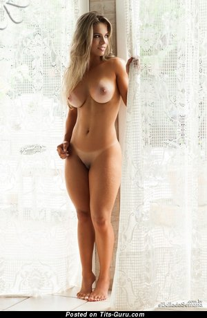 Nude amazing female with big boobs picture