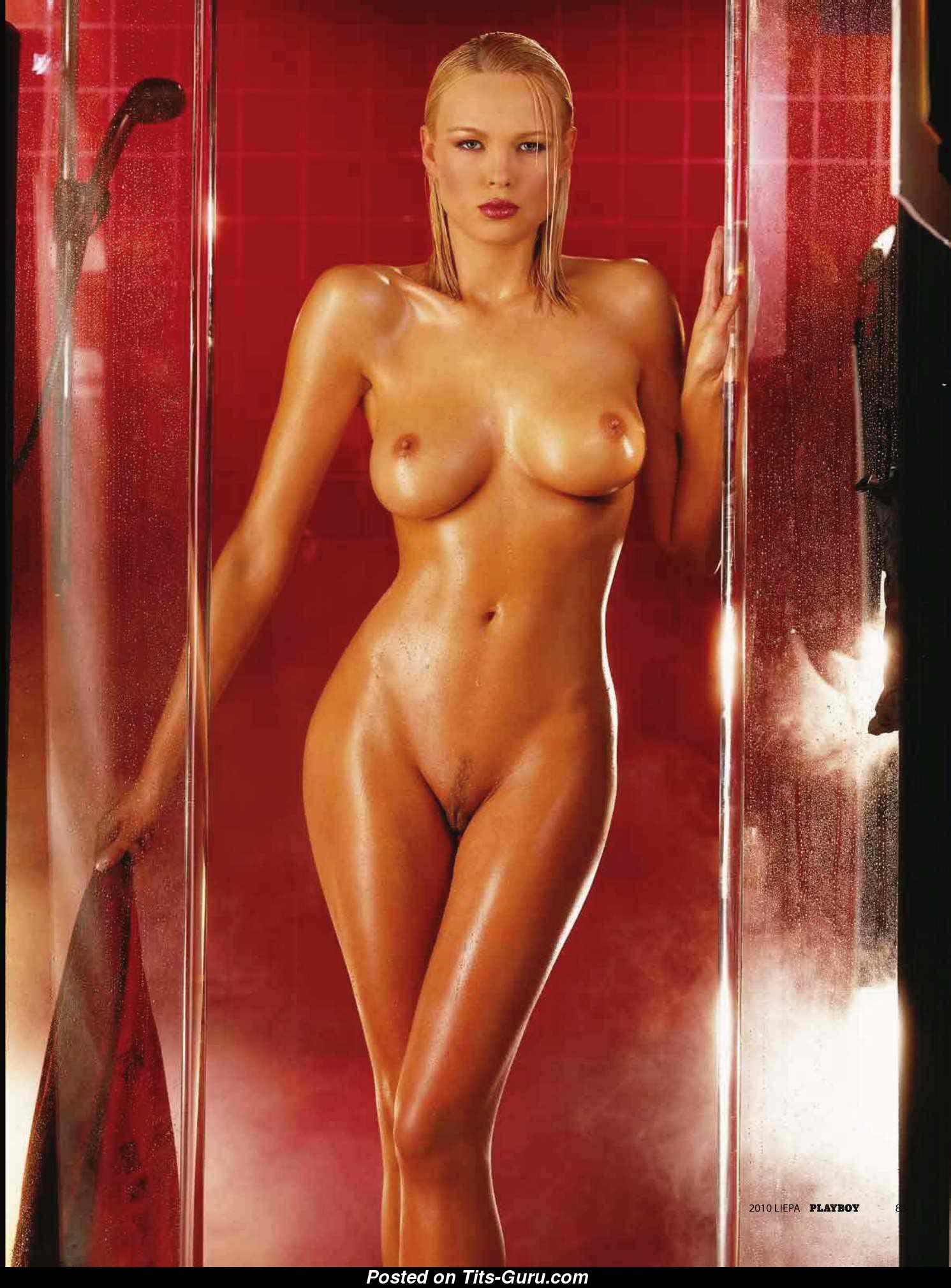 Irina Voronina - Wet Playboy Blonde Babe with Nude Normal ...