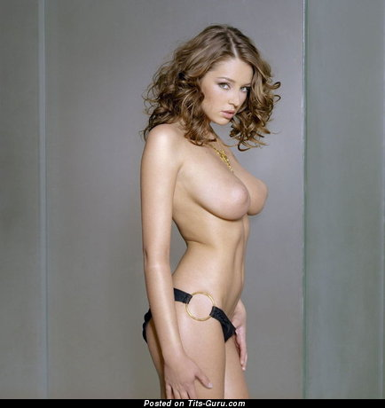 Image. Keeley Hazell - naked wonderful female with big natural boobs picture