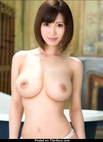 Gorgeous Topless Asian Babe with Gorgeous Defenseless Natural Boobie (Porn Picture)