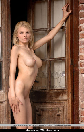 Roxio - Magnificent Argentine Blonde with Lovely Open Natural Med Tit (Sex Pix)