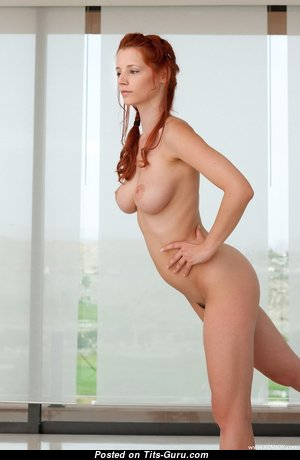 Ariel Piper Fawn - Handsome Czech Red Hair Babe & Pornstar with Handsome Exposed Dd Size Tittys (Xxx Photoshoot)