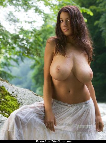Image. Nude amazing woman with natural tots photo