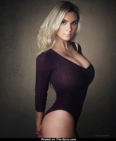 Anastasia Gorbunova - Yummy Glamour & Non-Nude Blonde Babe with Yummy Natural Very Big Melons (Hd Xxx Pix)