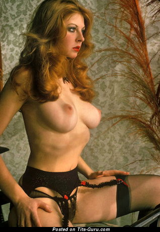 Cassandra Peterson - Awesome American Red Hair with Awesome Bare Real Firm Chest (Vintage Xxx Photoshoot)