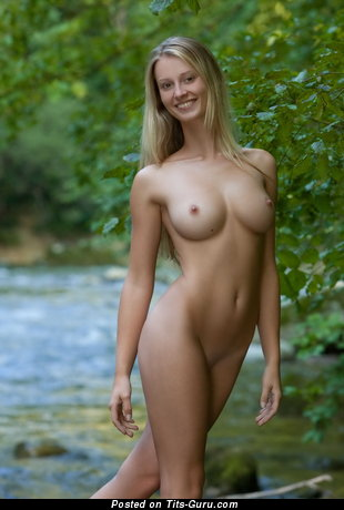 Image. Naked awesome woman with medium boob photo