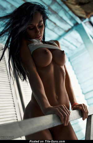 Splendid Unclothed Girl with Long Nipples (Sexual Pix)
