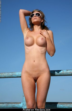 Image. Jenna Jones - nude hot lady with medium fake tittes picture
