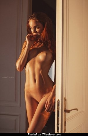 Ekaterina Sherzhukova - Marvelous Red Hair with Marvelous Naked Natural Short Titties (Xxx Foto)