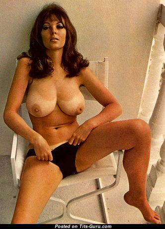 Avril Lund - Alluring Brunette with Alluring Nude Natural Regular Breasts (Vintage Hd Porn Pic)