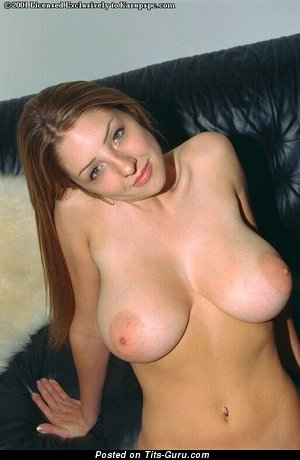 Barbara Baines - nude hot lady with big natural breast photo