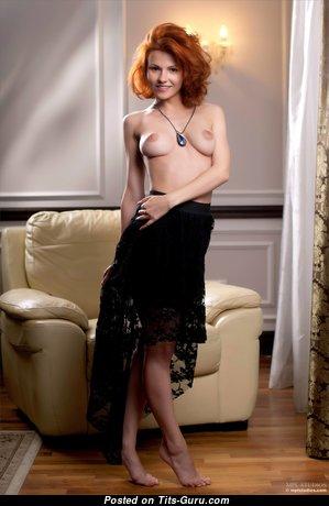 Mina - Charming Nude American Red Hair (4k 18+ Photo)