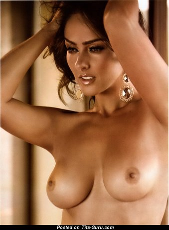 Andrea Garcia - nude latina with medium natural breast pic