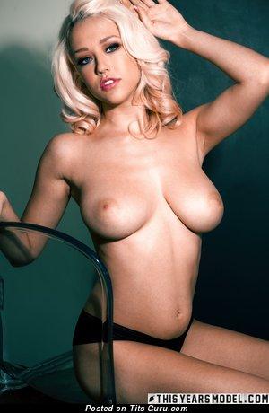 Image. Sabrina Nichole - sexy nude blonde with medium natural tits photo