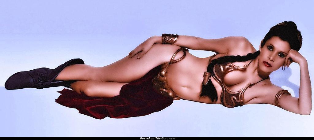 Star Wars Princess Leia Carrie Fisher Nude