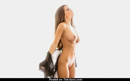 Image. Nude nice female with big natural tots photo
