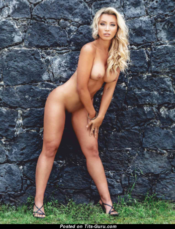 Ashley Noel - The Nicest Nude Playboy Blonde with Sexy Legs is Smoking (Xxx Image)