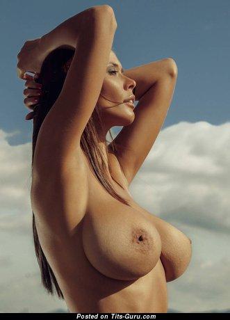 Bilyana Evgenieva - Perfect Bulgarian Brunette with Perfect Bald Real Big Boobies (Hd Sex Foto)