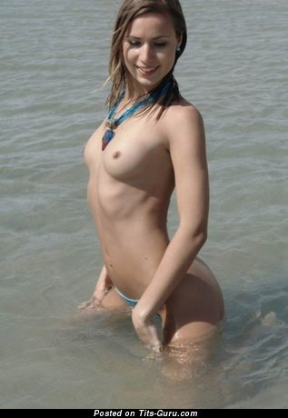 Image. Naked awesome lady with medium natural tittes photo