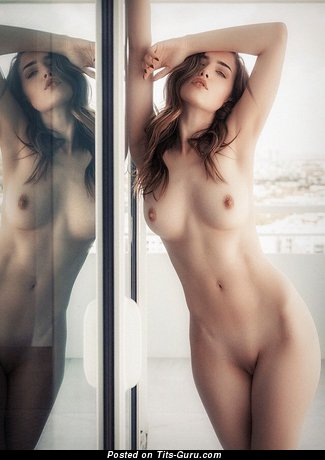 Sexy topless wonderful female pic