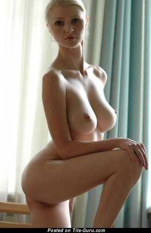 Image. Naked amazing female with big natural boob image