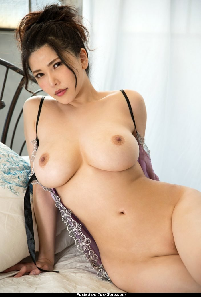 Anri Okita - Topless Asian Brunette Pornstar With Nude -8050