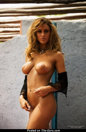 Image. Rebecca Dipietro - nude nice female with medium natural boobs picture