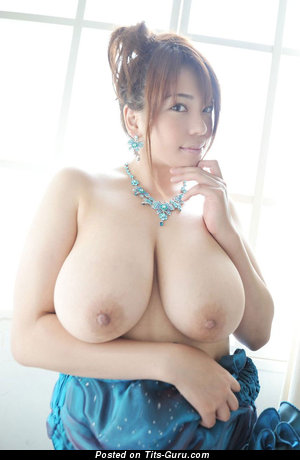 Image. An Mitsuki - naked asian with huge natural tittes and big nipples picture