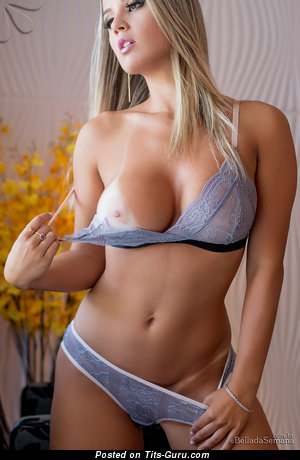 Image. Latina blonde with big natural tittys picture