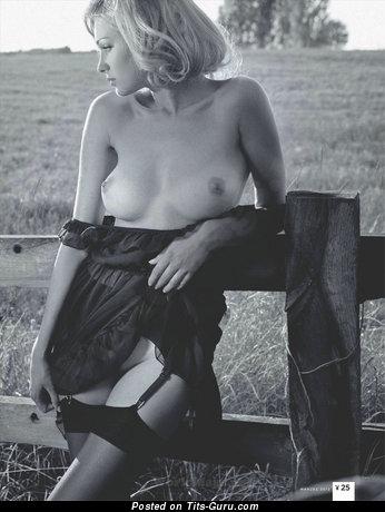 Monika Partyka - Amazing Blonde with Amazing Defenseless Real Firm Boobie (Hd 18+ Pix)
