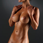 Hot woman with big breast pic