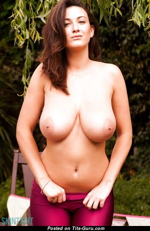 Grand Babe with Grand Bare Substantial Balloons & Big Nipples (Hd Sexual Pix)