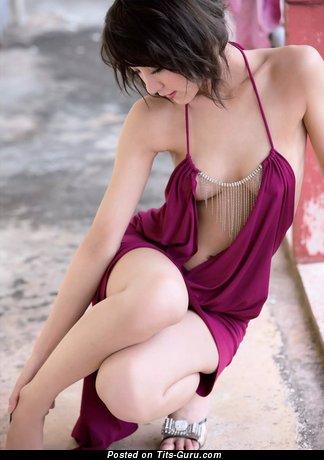 Image. Ren Ishikawa - naked asian with small natural breast pic