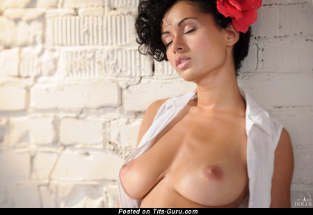 Image. Lubachka - beautiful woman with big natural breast pic