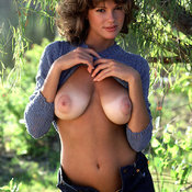 Nice female with big natural breast picture