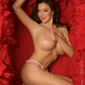 Jordan Carver - wonderful female with huge tits picture