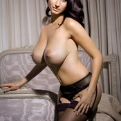 Sammy Braddy - brunette with huge natural tits picture
