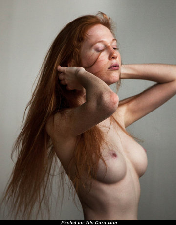 Image. Amazing female with medium natural boobs pic