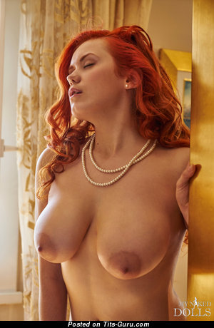 Image. Lilliyth Von Titz Aka Slavka Solnechnaya - naked red hair with big natural tots photo