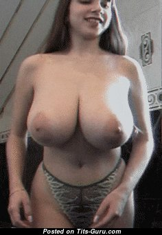 Yulia Nova - Stunning Russian Red Hair Babe Showing Alluring Defenseless Real Hefty Tittes (Xxx Gif)