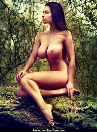 Dagmara Bajura - Awesome Topless Polish Red Hair with Awesome Bald Dd Size Tittys (Xxx Photo)