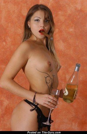 Exquisite Naked Floozy is Smoking (Hd Xxx Photoshoot)