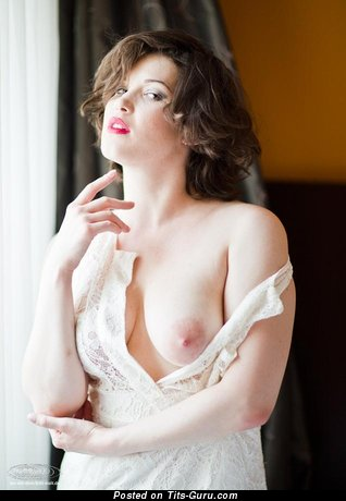 Image. Awesome woman with medium natural breast picture