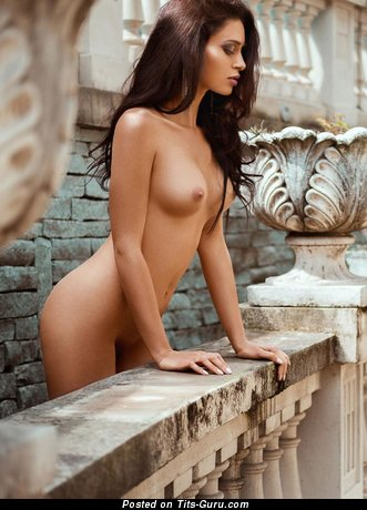 Image. Corinne Piccolo - naked brunette with small tittys pic